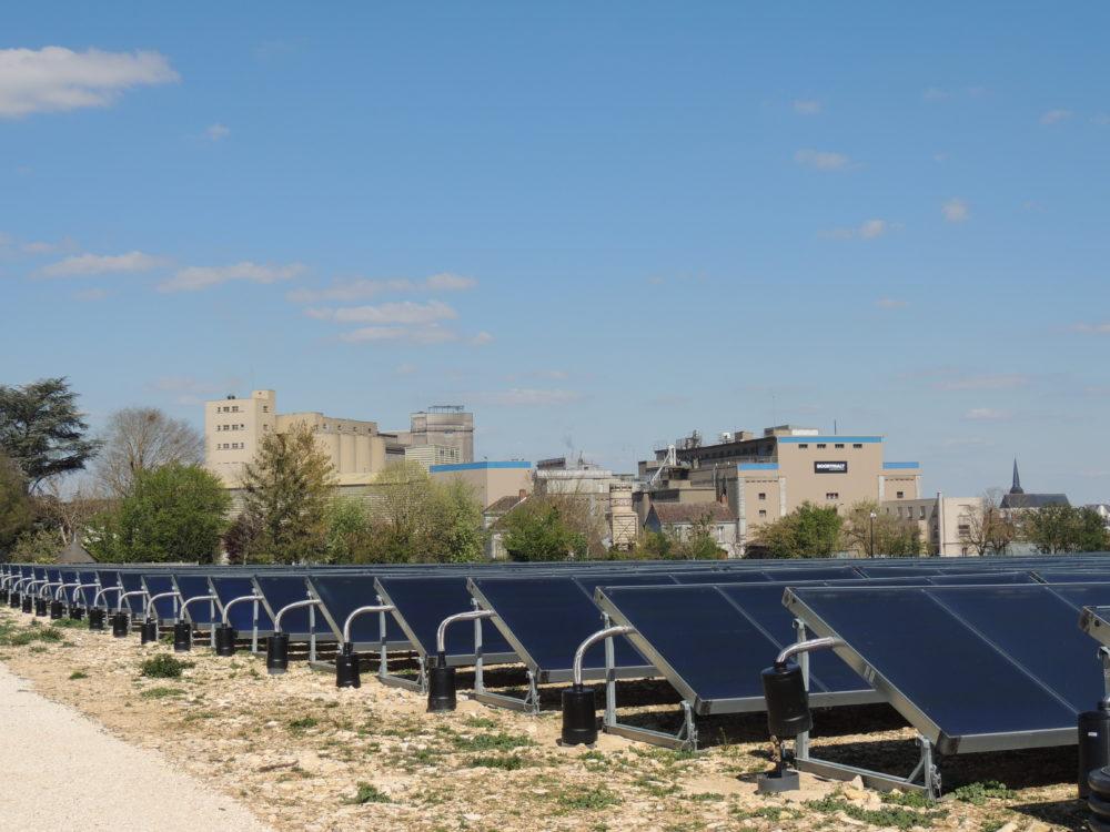 Centrale solaire thermique des Malteries Franco-Suisses