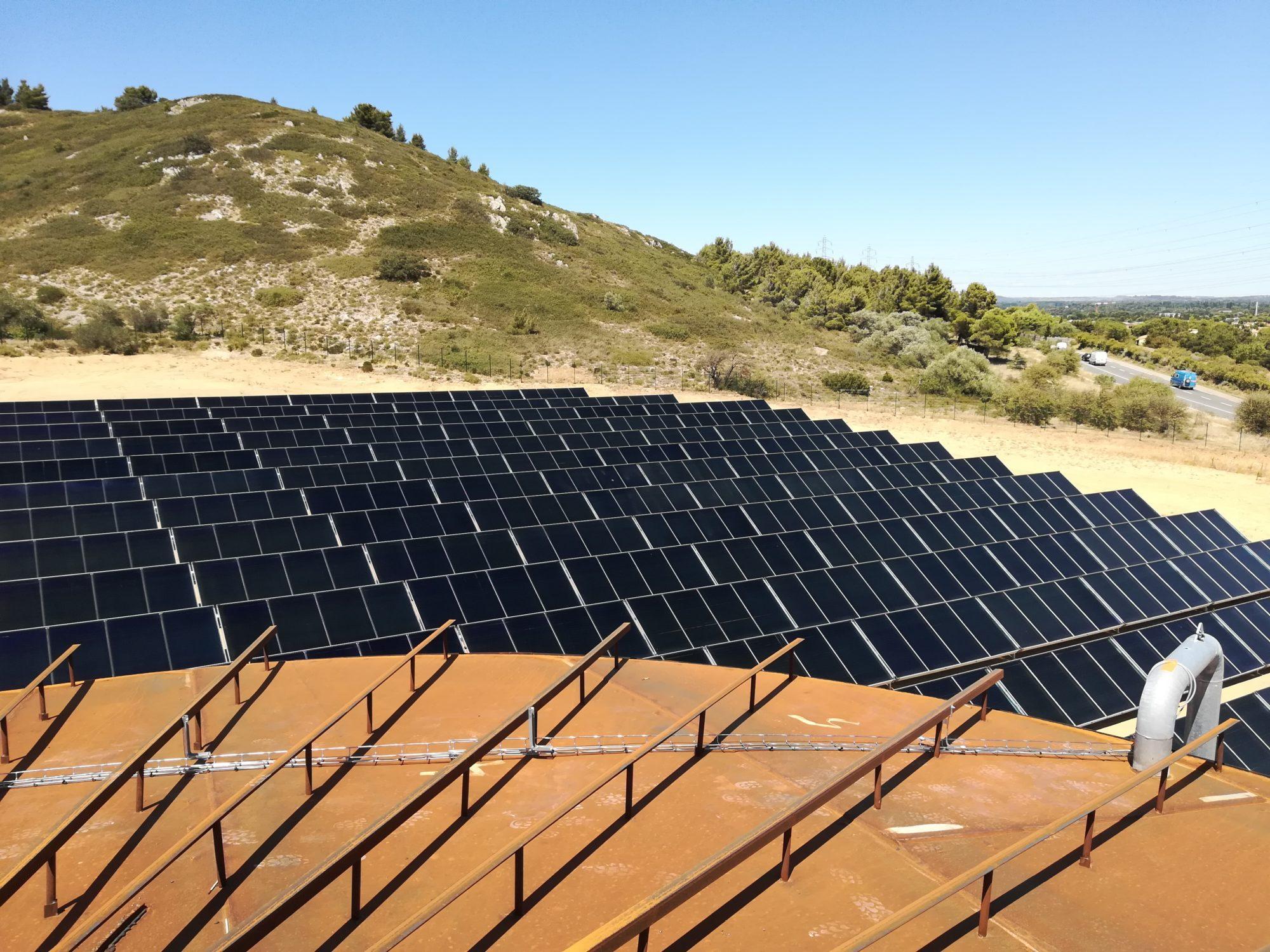 Centrale solaire thermique du réseau de chaleur de la ville de Narbonne